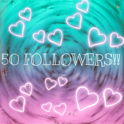50 50followers thank ily tysm ty nice luvuguys heart marker freetoedit