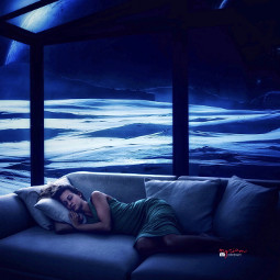 myriam70 surreal spaceworld galaxy dream