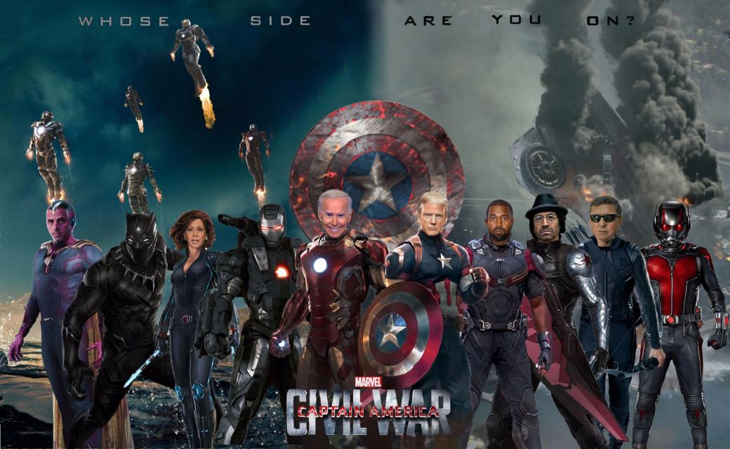 #americancivilwar #captainamerica #donaldtrump #joebiden #meme #kanyewest #kamalaharris