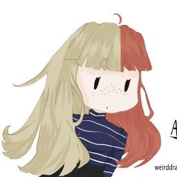 drawing anime animeart chibi chibiart
