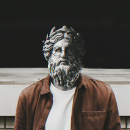 faceart surreal statues antique old greek fantasy freetoedit