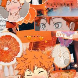 hinatoshoyo haikyuu!! animewallpapers orangeaesthetic hinata haikyuu