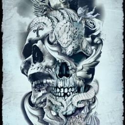 skullart freetoedit