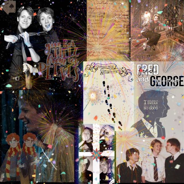Fred and George ❤️ #fredweasley #fredweasleyaesthetic #georgeweasley #georgeweasleyaesthetic #weasleytwins #weasleysupremacy #weasleywizardwheezes #weasleys #harrypotter #dumbledoresarmy #weasleytwin #fredandgeorgeweasley #fredandgeorge   #weasleyproducts #maraudersmap