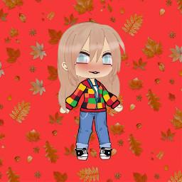 autumn picsart clothes red freetoedit