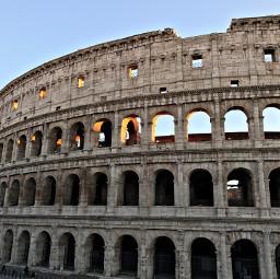 freetoedit rome italy coliseum sunset
