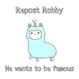 repost repostthis reposted robby cute lamma blue aesthetic adorable hi hello pleaserepost famous wannabefamous unicorn unicornlamma unicornlama unicornllama freetoedit