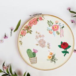 flores bordado tematicaflores freetoedit ircdesignanembroideryhoop designanembroideryhoop