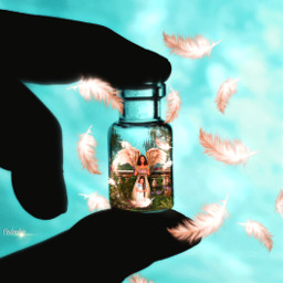 freetoedit manipulation madewithpicsart fantasy love angel inspiration colochis89 it colochis89 ircminimagicbottle minimagicbottle