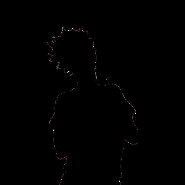 #tendousatori #tendou #satori #haikyuu #anime #animeboy #silhouette #tendousilhouette #fgedits #sticker #haikyuu!! #haikyuusticker #haikyuutendou