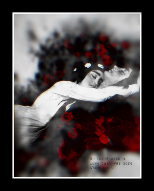 We loved with a love that was more than love ~ Edgar Allen Poe  #love #emotions #heypicsart #roses #red #art #quote #man #woman #couple #romance #nature #colorsplash #renaissance #doubleexposure #overlay #blur #border #makeawesome #beinspired #myedit #picsart #papicks #freetoedit #remixit @picsart