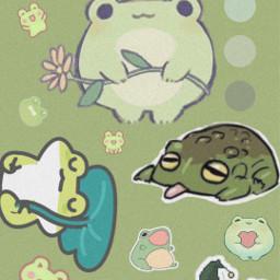 frogs froggy cute green wallpaper screensaver frogwallpaper frogscreensaver greenwallpaper greenaesthetic frogaesthetic greenscreensaver freetoedit