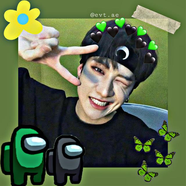 Bkack green! ㅋㅋㅋ  Follow me on instagram my user {evt.ae} ♡ . #bangchan #skz #straykids #straykidsbangchan  #edit #amongus #replay #edits