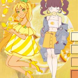lemons lemonwallpaper lemonscreensaver wallpaper screensaver yellow sweetandsour orange yellowwallpaper art freetoedit