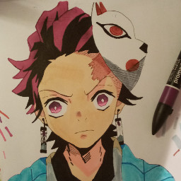 tanjiro dessin dessinanime drawing demondslayer