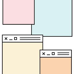 freetoedit window layers overlay cute kpop mask colorful wallpaper background