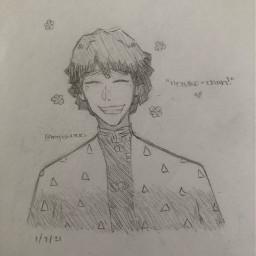 animeart zenitsuagatsuma drawing art anime demonslayer