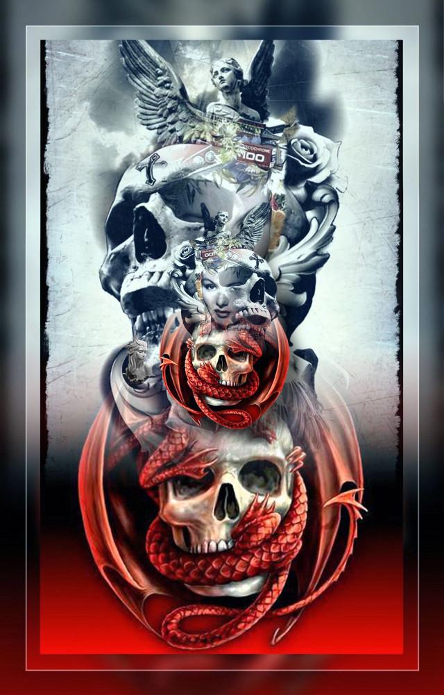 #gothic #skullart