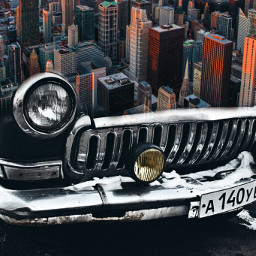 freetoedit car mustang city dtsdk redcar interesting art cityscape picsart skyscraper photomanipulation willistower chicagoillinois photosurrealism skyline chicago