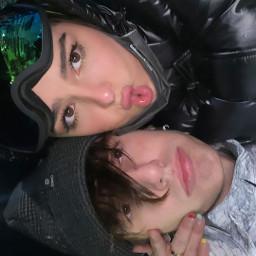 freetoedit addisonrae brycehall winter outfit cold cute beauty couple love makeawesome remixit heypicsart picsart tiktok addison