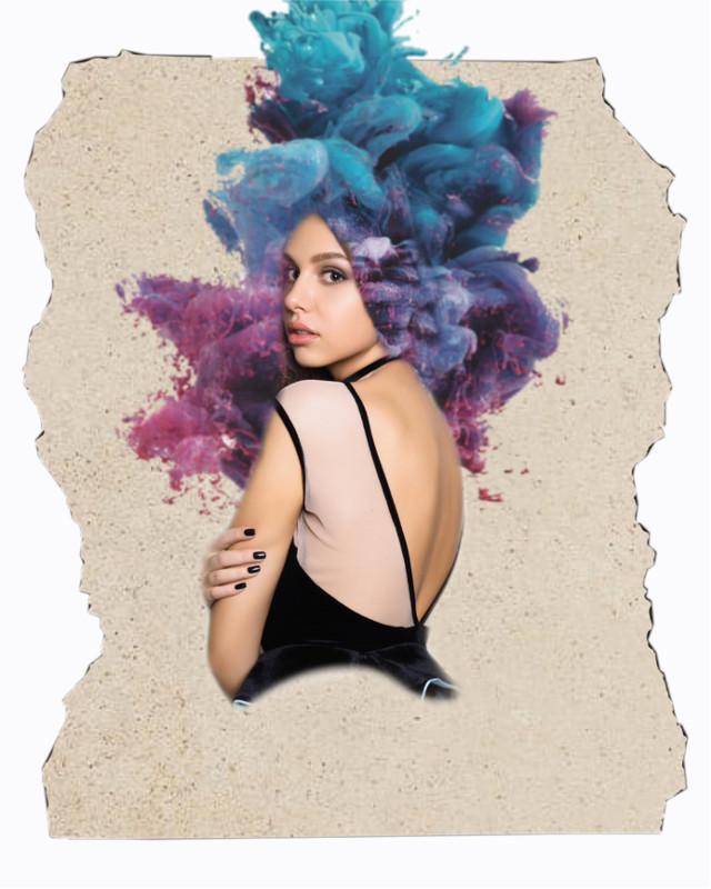#freetoedit #surreal #aiselecg #hair #smoke #smokey #smokeeffect #ripped #rippedpaper #album