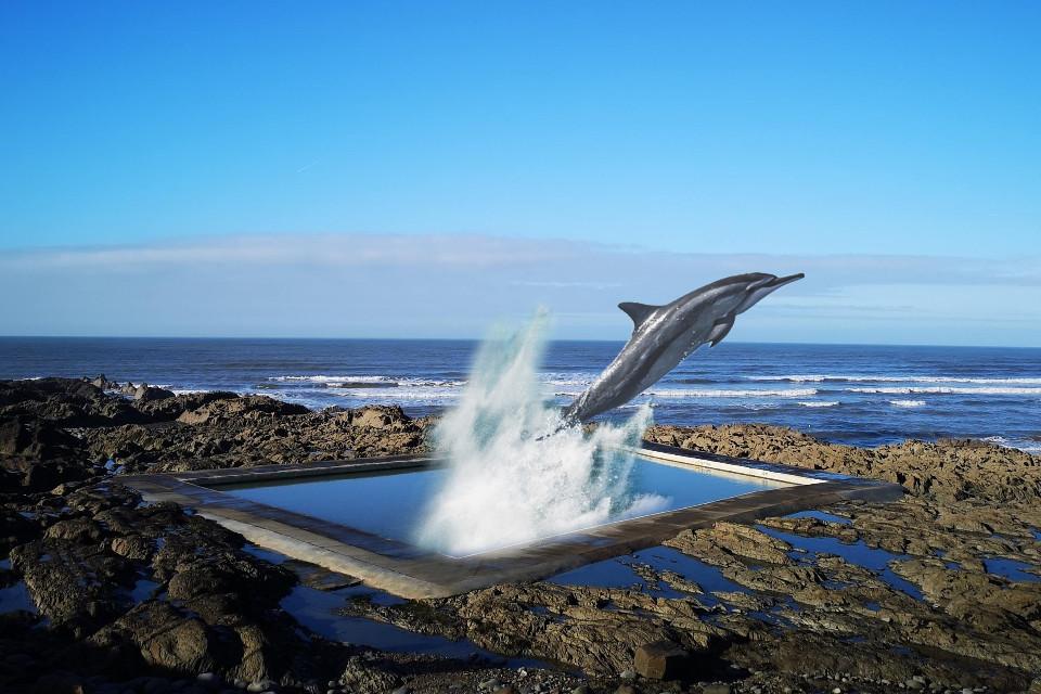 #remix #blue #escapethefate #dolphin