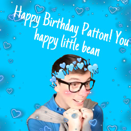 happybirthdaypatton pattonsanders freetoedit
