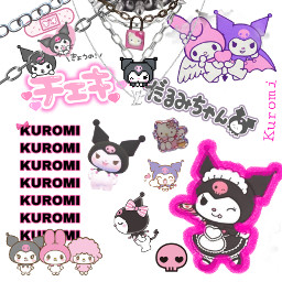 kuromi sanrioaesthetic robloxavatar freetoedit