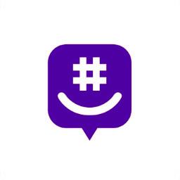 darkpurple groupme icon logo