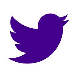 darkpurple twitter logo icon