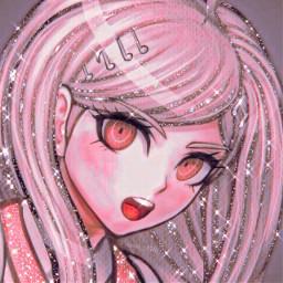 kaedeakamatsu kaede danganronpa danganronpav3 pink danganronpaedit asthetic astheticallypleasing astheticedit sparkle sparkleedit animeicon animeedit iconedit