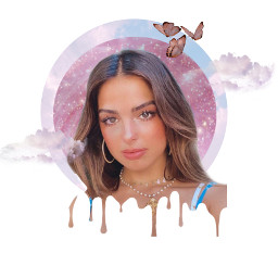 freetoedit adisonrae drippingeffect clouds glitter butterfly picsart picslu remix remixit remixedit