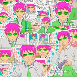 acontest1k21 saikikusuo anime pink green white complex animecomplex