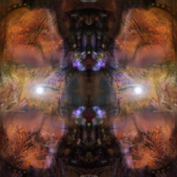 elevatedstate remix overlayed chaos mirror effect teamwork collaboration newfriends freetoedit