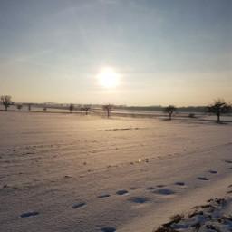 freetoedit remixit remixme landscape nature winter sunset