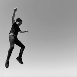 bw bnw blackandwhite bwphotography bnwphotography photography jump jumping jumpingman photobyme photographie freetoedit