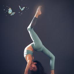 contortion dance freetoedit
