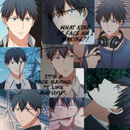 given mafuyu uenoyamagiven uenoyama uenoyamaritsuka anime givenanime boyxboy freetoedit