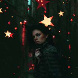 stars remix portrait photography freetoedit