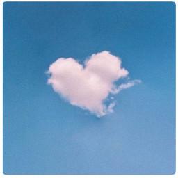 heart love photos photo aesthetic iloveyou ily clouds sky blue blueaesthetic