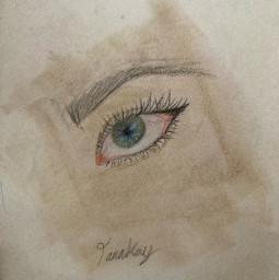 eye sketch art greeneyes blueeye green blue pink black aesthetic byme makeup whydoihavetoaddahashtag iknowwhythough yeeeeet bytanakay bytanakayyt artbytana tanakayyt tanakay