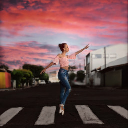 ballet sister street freetoedit
