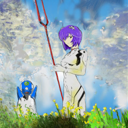 digitaldrawing digitalcolouring theprometeus evangelion