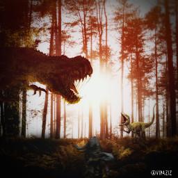 freetoedit jurassicworld dinosaur dinosaurs hollywood echo