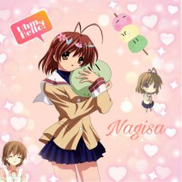 freetoedit clannad anime romance romanceanime animegirl kawaii kawaiigirl cute cuteness cutegirl innocent adorable clannadnagisa nagisa animeedit edit edited editedbyme