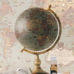 globe globeaesthetic lightacademia lightacademiaaesthetic wallpaper spyglass book books aesthetic vintageaesthetic darkacademia vintage reading travel global traveller adventure freetoedit irctheglobe theglobe