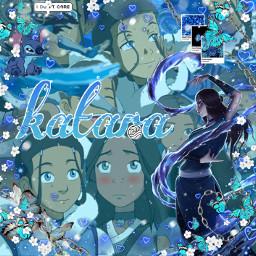 atla avatarthelastairbender katara blue freetoedit