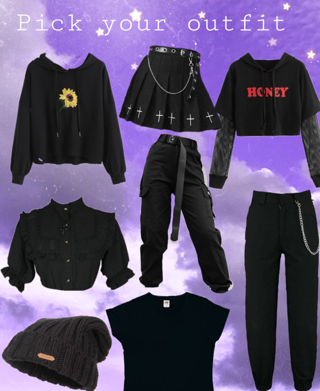 #blackclothes