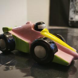 car ceramic painting