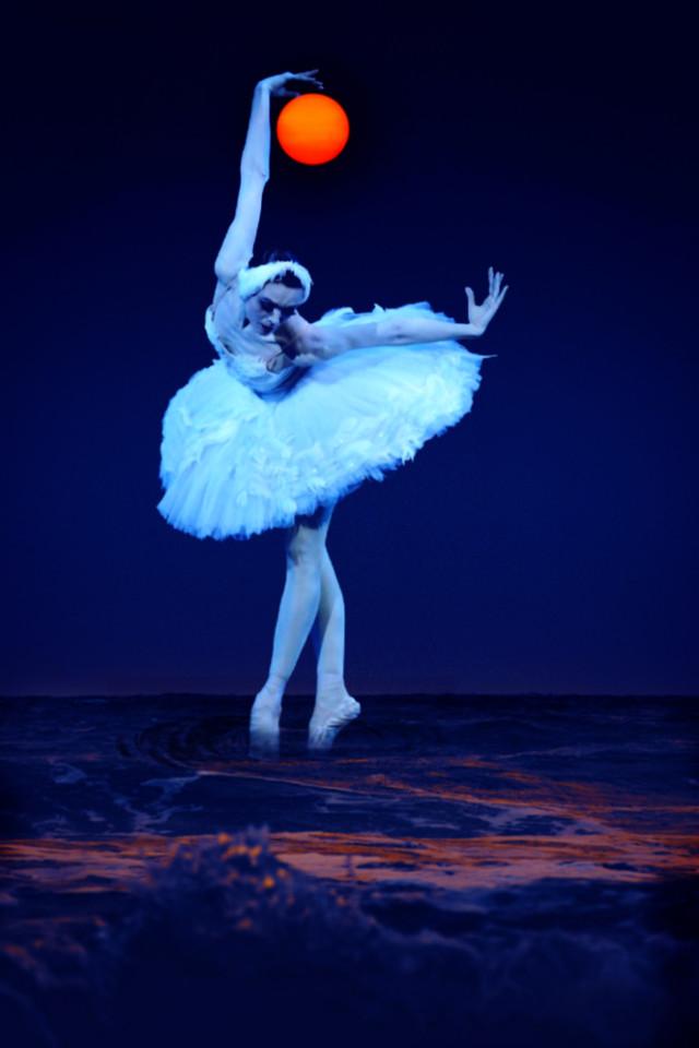 Be creative with PicsArt  #ballerina